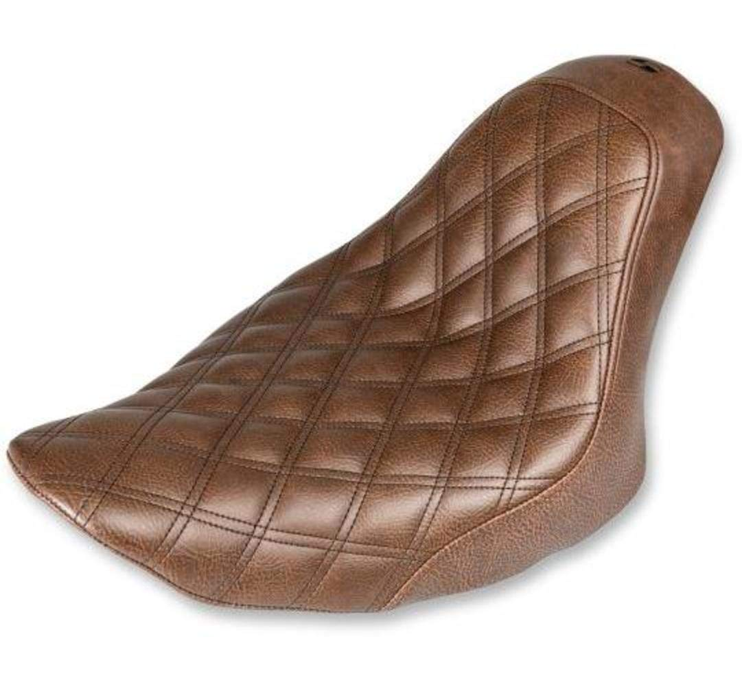 07-17 HARLEY FLSTF Brown Standard Saddlemen Renegade LS Solo Seat