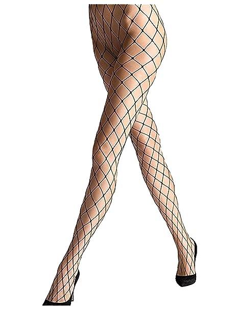 7e2cd02cd4e073 Sexy Big Cross Fishnet Tights Seamless Nylon Large Mesh Stockings Hollow  Out Pantyhose (black)