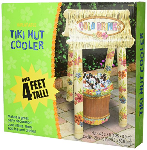 Amscan Inflatable Tiki Hut Party Cooler]()