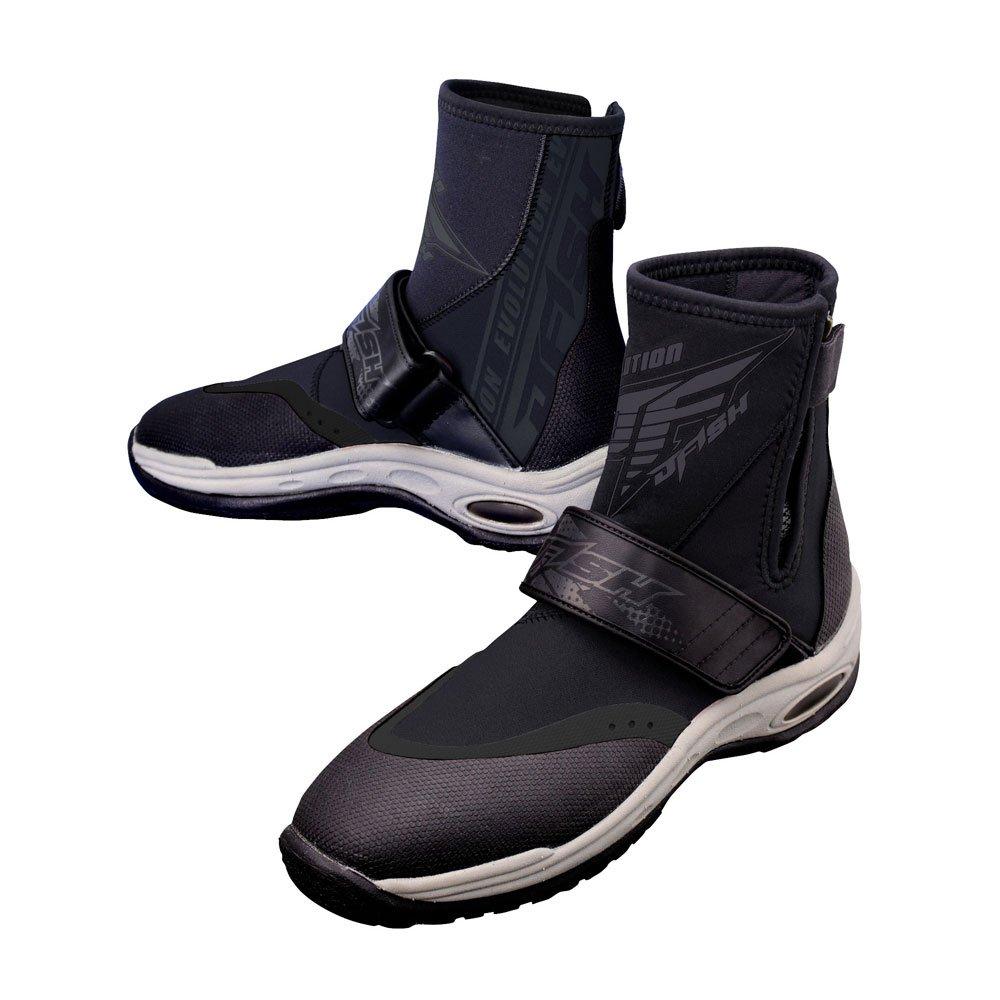 【J-FISH/ジェイフィッシュ】エボリューション ジェットブーツ JJB-38100 マリンブーツ 靴 大人用 2018SS 黒 X-Small