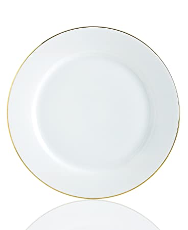 Amazon Com Charter Club Grand Buffet Fine Line Gold Dinner Plate