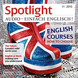 Spotlight Audio - English courses, how to choose. 11/2015