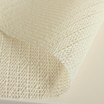Good Amazon.com: DGJTDF Anti Slip Mat For Tablecloths, PVC Anti Slip Mesh  Tablecloth Beige 200x140cm (79x55inch): Kitchen U0026 Dining
