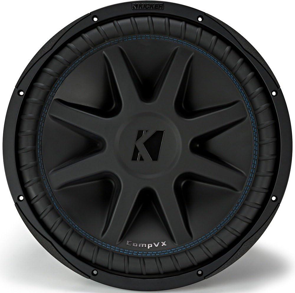 Kicker CVX154 COMPVX 15 Subwoofer Dual Voice Coil 4-Ohm 1000W