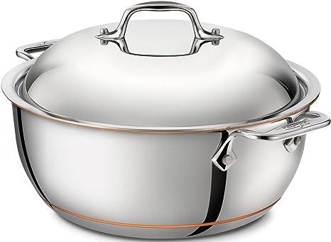 Amazon.com: All-Clad 6500 SS - Horno holandés de cobre, 5 ...