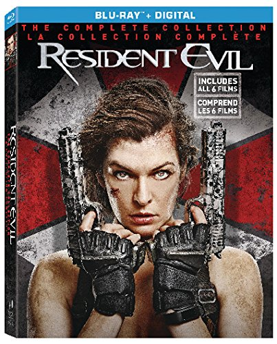 Resident Evil / Resident Evil: Afterlife / Resident Evil: Apocalypse / Resident Evil: Extinction / Resident Evil: Retribution / Resident Evil: The Final Chapter (6 Discs) Bilingual [Blu-ray]