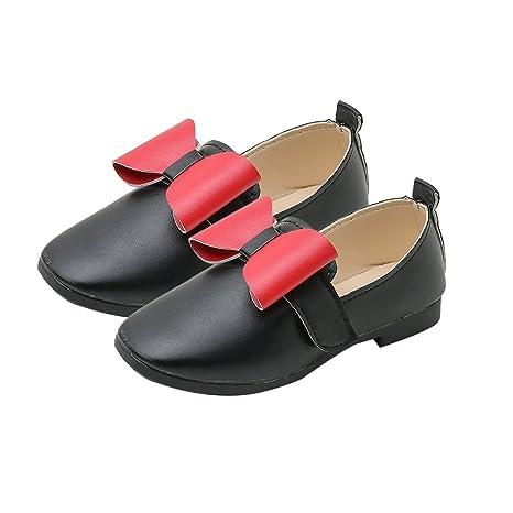 Gugutogo Moda Bowknot redondo descalzo zapatos casuales Nude Otoño zapatos de vestir de la princesa (