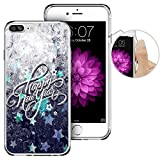 iPhone 7 Plus Case Christmas,Apple 7 Plus Case, LAACO Beautiful Clear TPU Case Rubber Silicone Skin Cover for iPhone 7 Plus - The New Year in Winter