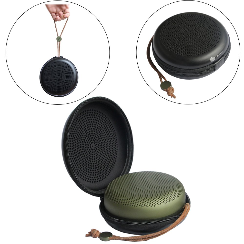 Zaracle Portable EVA Travel Carrying Case Storage Bag Protective Pouch Cover For Kinps SoundCircular Bluetooth Speaker