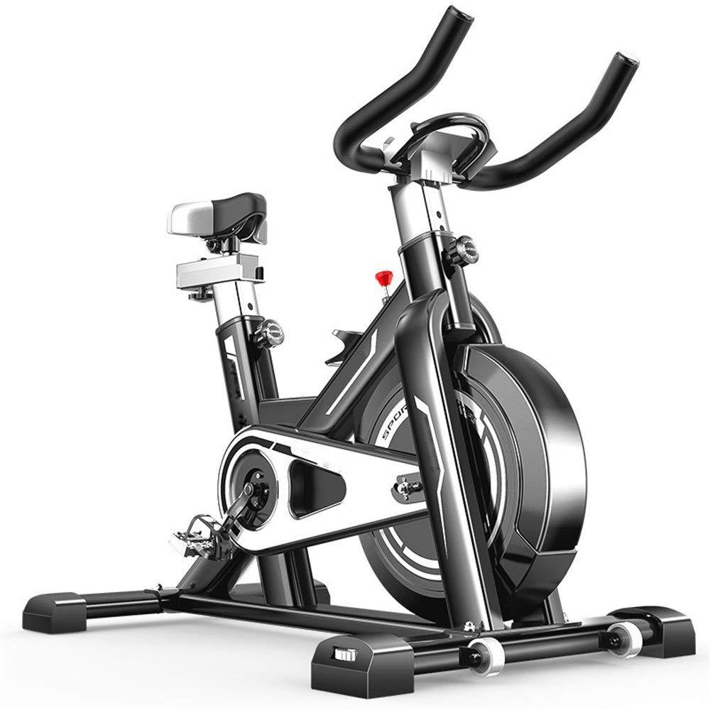 フィットネスバイク 理性的な回転のバイクは訓練コンピュータおよび楕円形の十字のトレーナーと進みました スポーツ用品 (色 : ブラック, サイズ : Free size) Free size ブラック B07R6KJJ2P