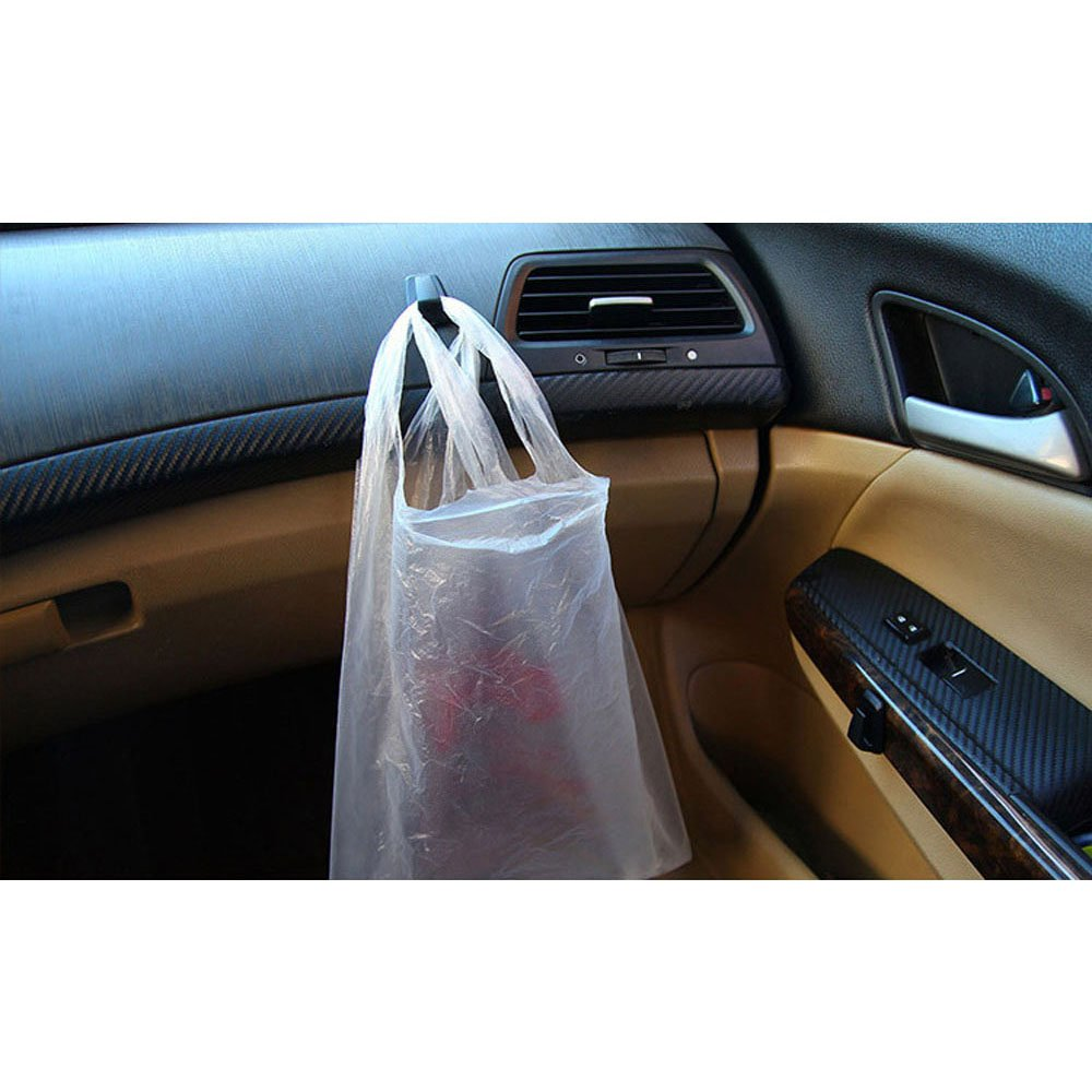 COGEEK 3 Pcs Car Convenient Bag Key Purse Holder Hanger Plastic Hook