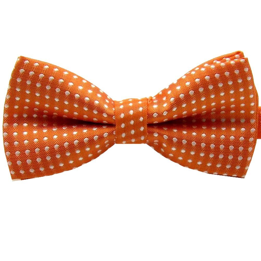 Etop colorful Polka Dots Bow Tie,Pet Dog Cat Adjustable Bowtie Fashion Accessories orange