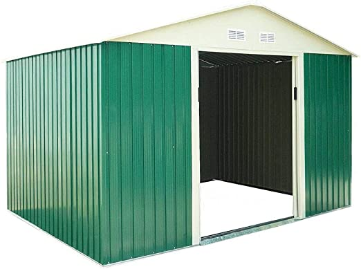 Catral CASETA Metalica Space Green High Door, Verde: Amazon.es: Jardín