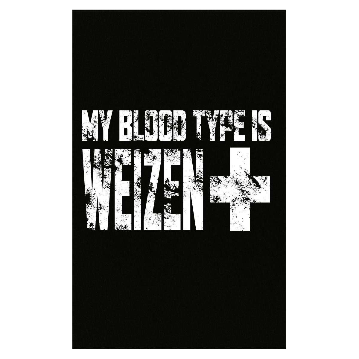Amazon Com Kewlcover My Blood Type Is Weizen Positive Craft Beer