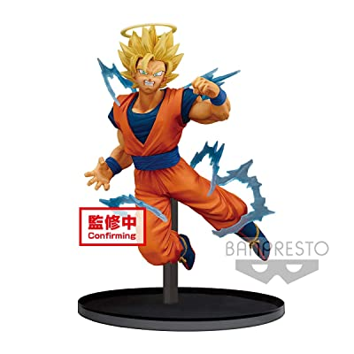 Banpresto Dragon Ball Z Dokkan Battle Collab-Super Saiyan 2 Goku-: Toys & Games