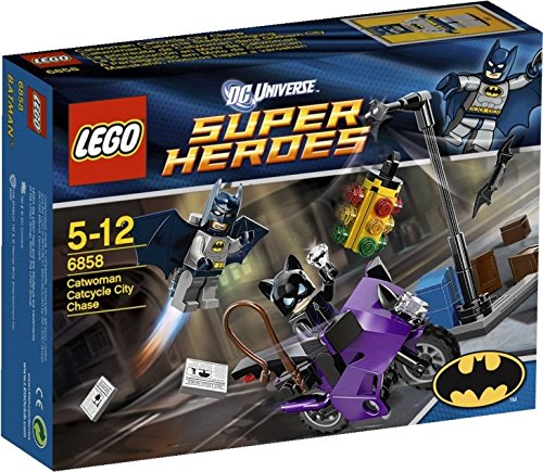 LEGO Super Heroes Catwoman Catcycle City Chase 6858 at Gotham City Store