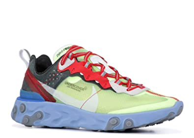 d8197ec81a20 Nike Mens React Element 87 X Undercover Volt University Red-Black Synthetic  Size 5