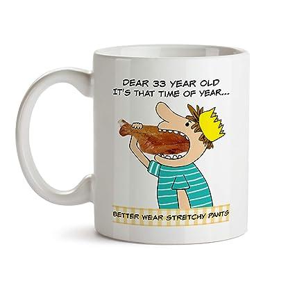 33 Year Old Gift Mug