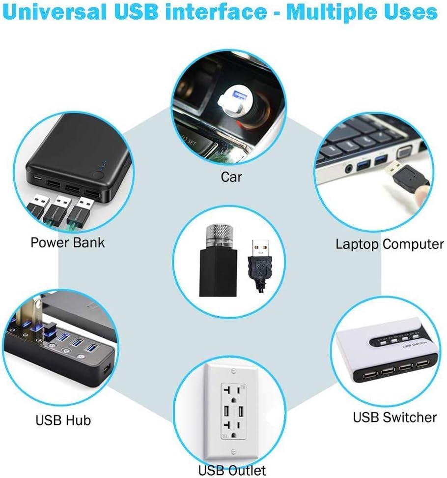 GHONLZIN USB Romantic Star Light Plug /& Play Car Home Ceiling Romantic USB Night Light for Car//Home//Party Auto LED Roof Atomphere Light Red