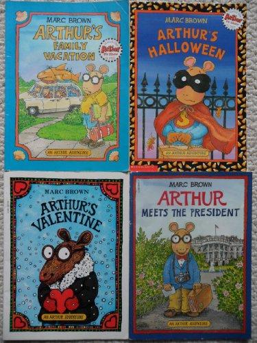 An Arthur Adventure Set (Arthur Meets the President ~ Arthur's Halloween ~ Arthur's Valentine ~ Arthur's Family Vacation)]()