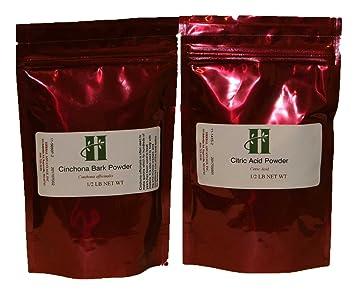 701f4b51339e Amazon.com  Cinchona Bark Powder Officinalis   Citric Acid Kit ...
