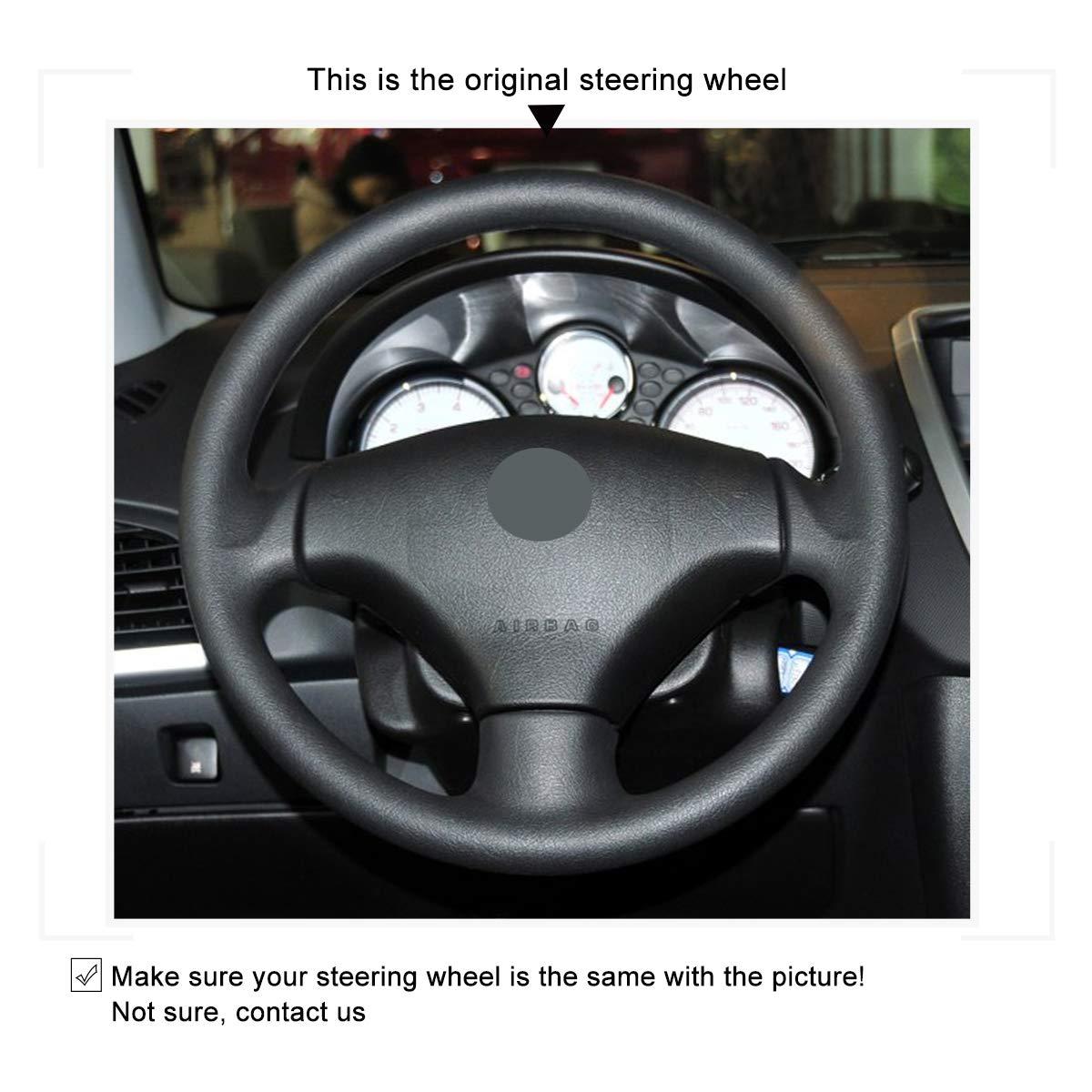 Amazon.com: Mewant - Funda de piel para Peugeot 206 2007 ...