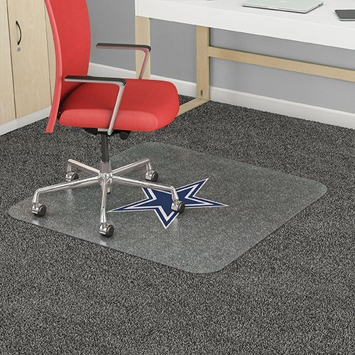 Officially Licensed Chair Mat Dallas Cowboys(36'x48') by Deflecto