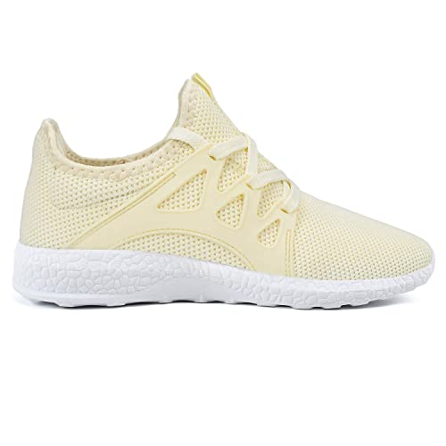 8a0ec51744 Feetmat Womens Running Shoes Lightweight Breathable Mesh Athletic Sneakers