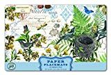 Michel Design Works 25 Count Into the Woods Paper Placemats, Multicolor