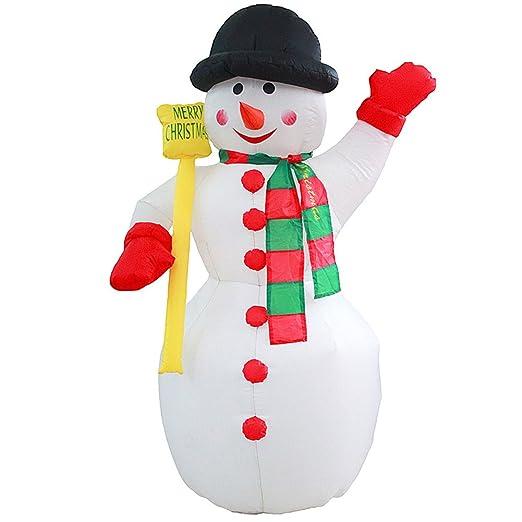 guchis gigante hinchable de Navidad Papá Noel Muñeco de ...