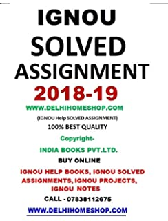 Buy IGNOU MA HISTORY 1ST/FIRST YEAR SOLVED ASSIGNMENTS