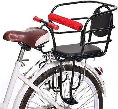 Dbtxwd Asiento Trasero de Seguridad para niños en Bicicleta con ...