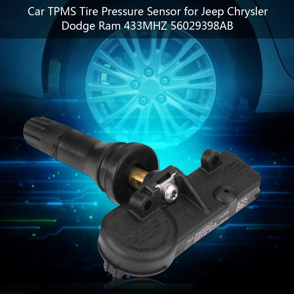 Gabriel Tire Pressure Monitoring Sensor for Chrysler Jeep Dodge Ram 56029398AB 56029398AA 68142397AA 68241067AB