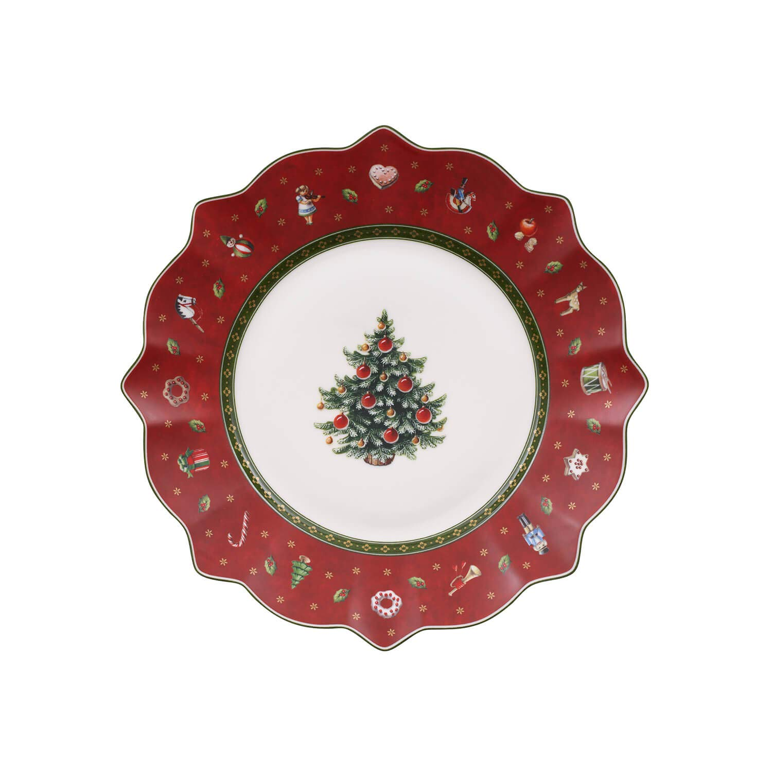 Villeroy & Boch Toy's Delight Salad Plate Red