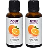 NOW Foods Essential Oils Orange -- 1 fl oz (2 pack)