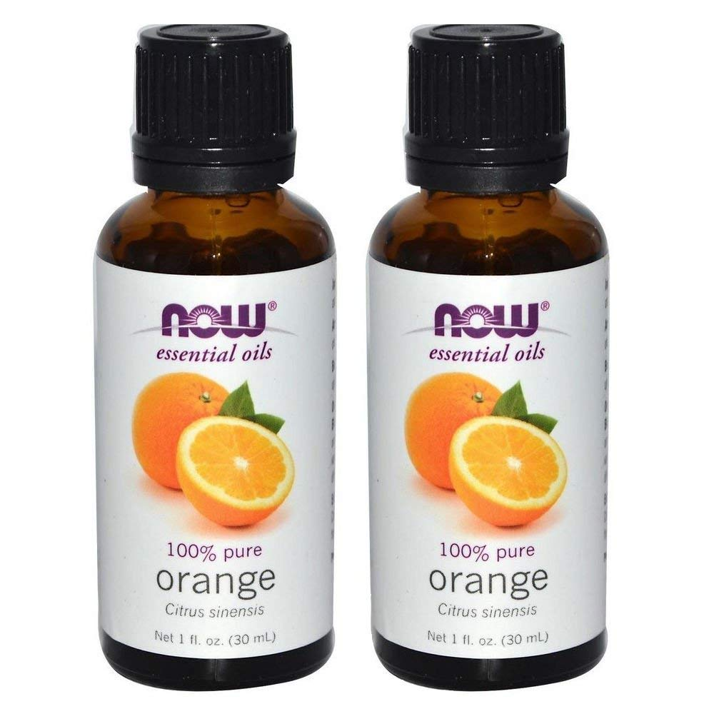 NOW Essential Oils, Organic Orange Oil, 1-Ounce