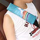 Seat Belt Cover for Kids,2 Pack Car Seatbelt Covers Shoulder Comfort Pad for Toddler Carseat,Cute Universal Seat Strap Cushion Pads for Adults,Child,Baby Girls,Gift for Christmas New Year (Unicorn)