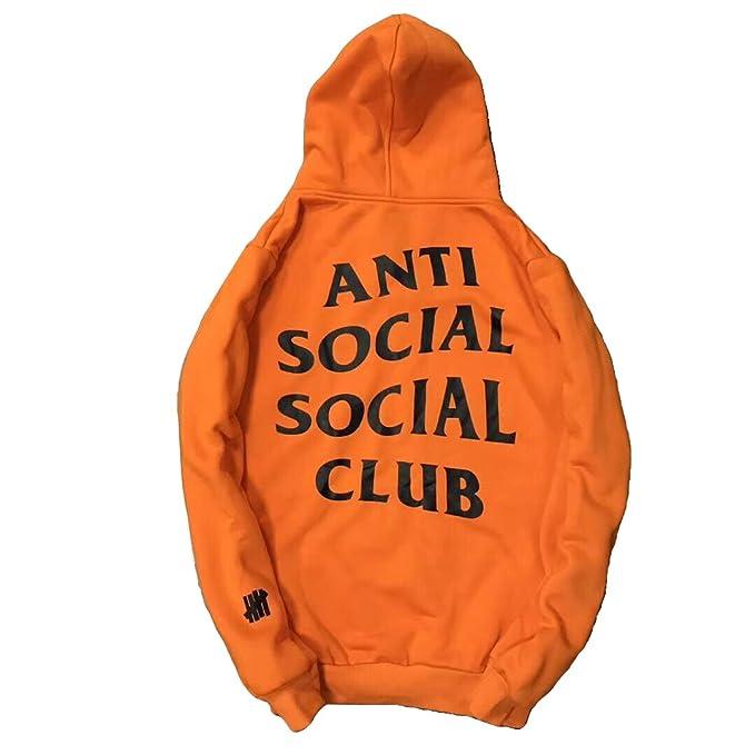 748fa018e Anti Social Social Club Men's Pullover Hoodie Sweatershirts: Amazon ...