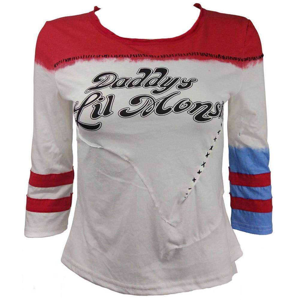 71b4f93249aa20 Screen Accurate T-Shirt. Wore by Harley Quinn Character.