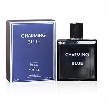 Amazon.com : CHARMING BLUE, 3.4 fl oz.Eau De Toilette Spray for Men, Perfect Gift : Beauty