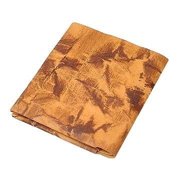 hot sale online ea644 c1341 【vintage slim wallet】財布 メンズ 二つ折り 紙でできた財布 薄い財布 小さい財布 ミニ財布 ミニマリストコインケースつき  (ブラウン)