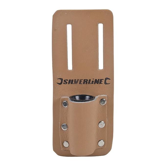 Silverline 783162 Pochette en cuir pour clé d'échafaudage 160 x 75 mm
