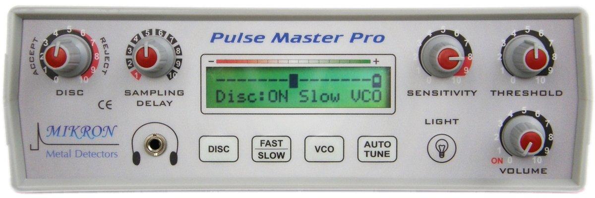 Pulse Master Pro Detector de metales profesional de impulsos para grandes Profundidad mikron: Amazon.es: Jardín