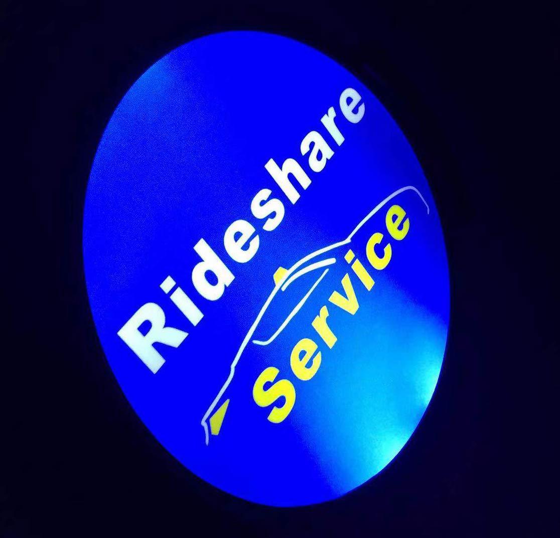 Led Lights for Cars,Removable Rideshare LED Light Sign