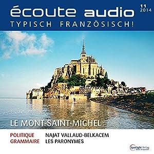Écoute audio - Mont-Saint-Michel. 11/2014: Französisch lernen Audio - Mont-Saint-Michel Audiobook
