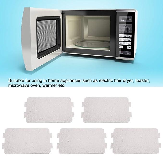 FTVOGUE - Juego de 5 Placas de Repuesto para hornos de microondas