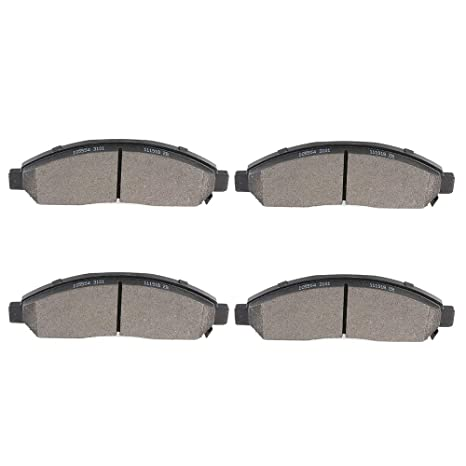 FRONT CERAMIC BRAKE PADS FOR GMC CANYON 2004 2005 2006 2007 2008 D1039