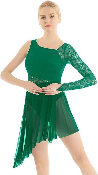 MSemis Mailot Danza Encaje para Mujer Chica Vestido Danza ...