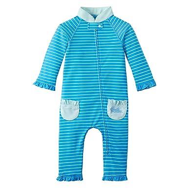 d7ccb77ac3a67 Amazon.com: UV SKINZ UPF 50+ Baby Girls' Sun & Swim Suit: Infant And ...