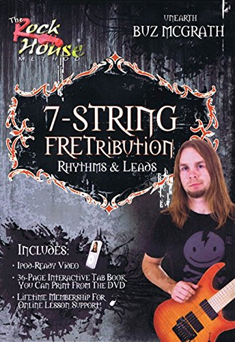 Buz McGrath- 7-String FRETribution, Rhythm & Leads [Instant Access]